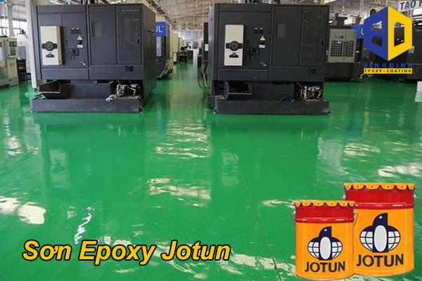 Sơn Epoxy Jotun sự lựa chọn hoàn hảo cho mặt sàn