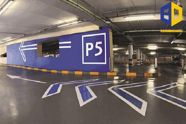 Sơn epoxy sàn tầng hầm cho trung tâm thương mại giá rẻ tại HCM