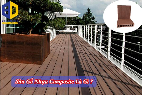 Sàn gỗ nhựa composite
