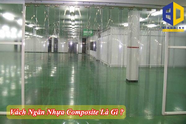 Vách ngăn nhựa composite