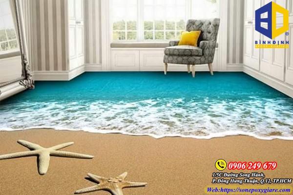 Tìm hiểu sơn sàn nhà 3d