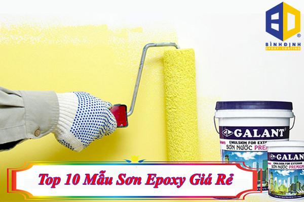 Top 10 Mẫu Sơn Epoxy Giá Rẻ Hiện Nay