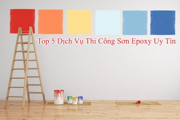 Top 5 dịch vụ thi công sơn epoxy uy tín nhất tại TP.HCM