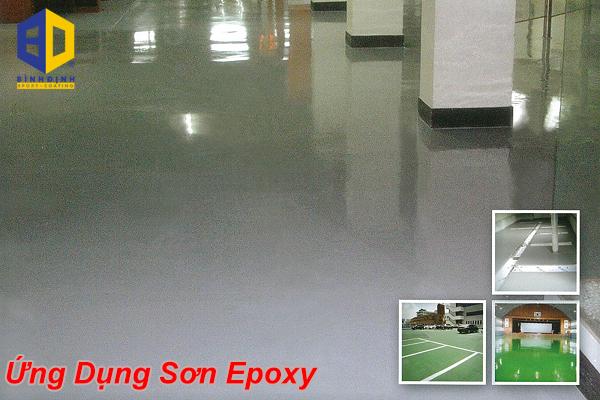 ứng dụng của sơn epoxy