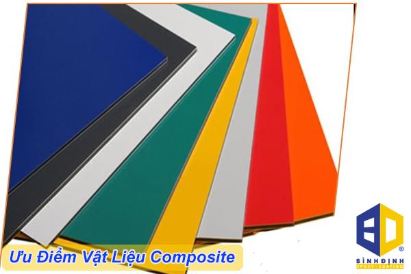 ưu điểm của vật liệu composite
