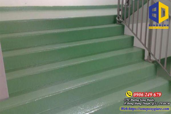 sơn epoxy cầu thang