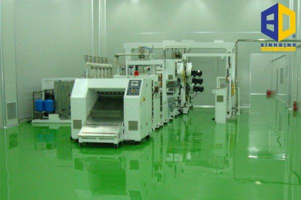 Nguyên lí hoạt động của epoxy chống tĩnh điện
