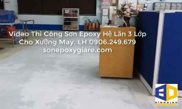 video epoxy thi công 1