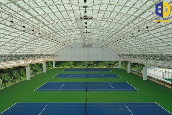 Tìm hiểu sơn sàn tennis