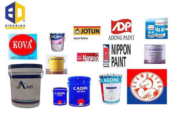 5 loại sơn epoxy phổ biến