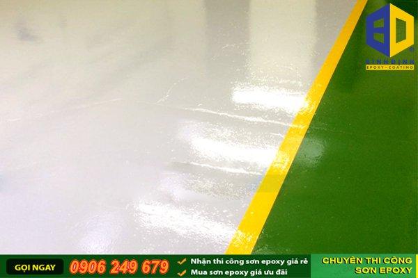 Tìm hiểu điều kiện thi công sơn epoxy
