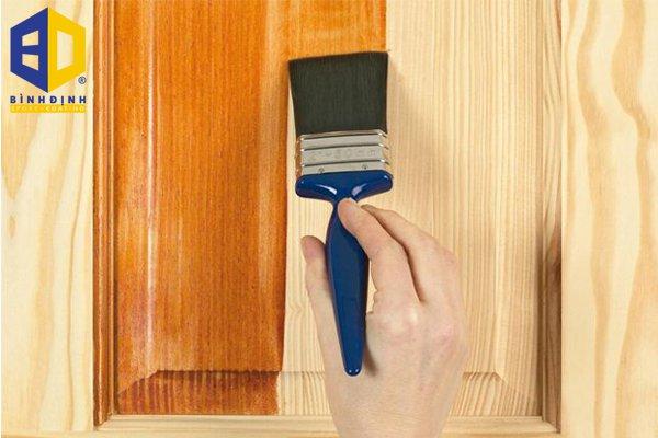 cách pha sơn pu